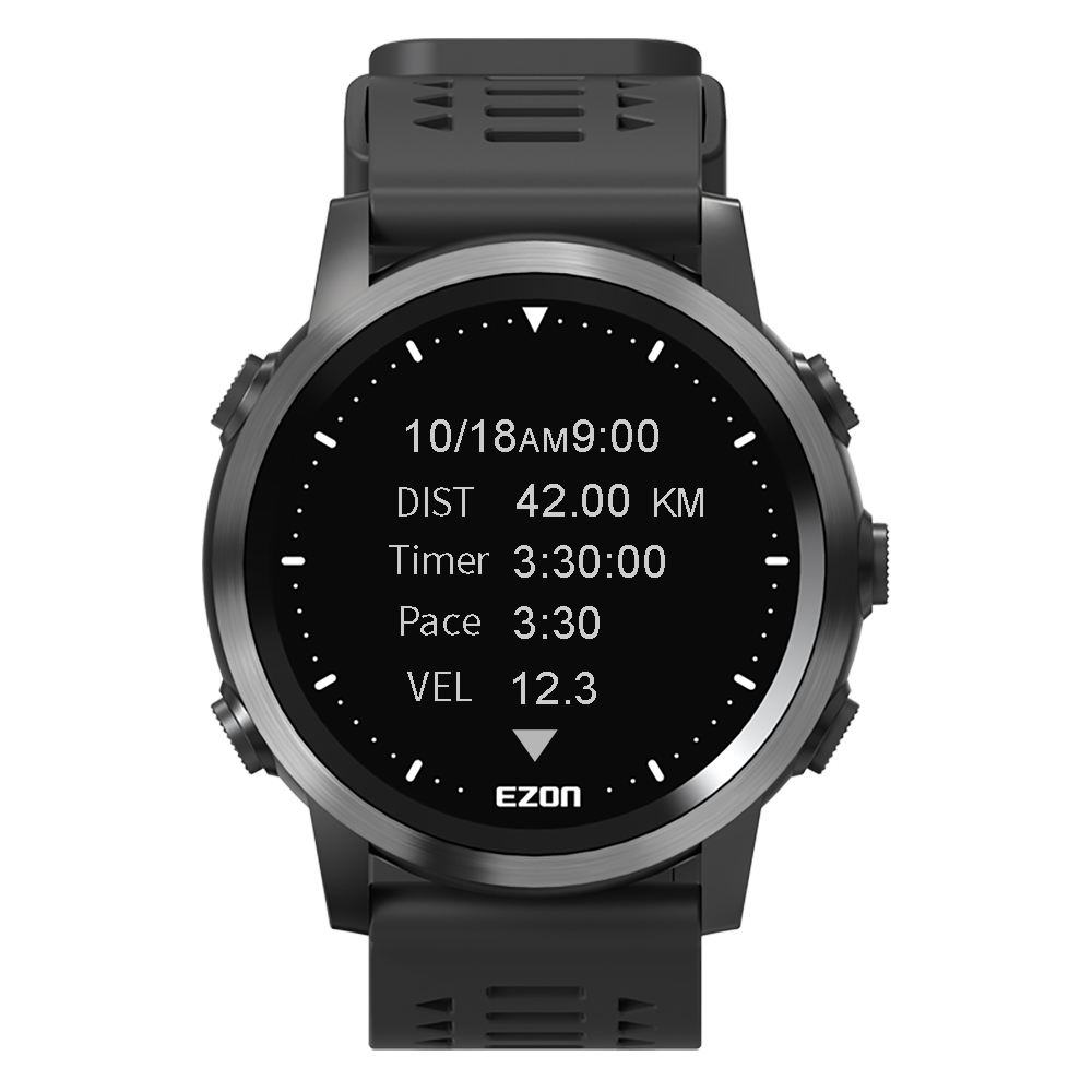 watch mens heart rate monitor watches waterproof stopwatch