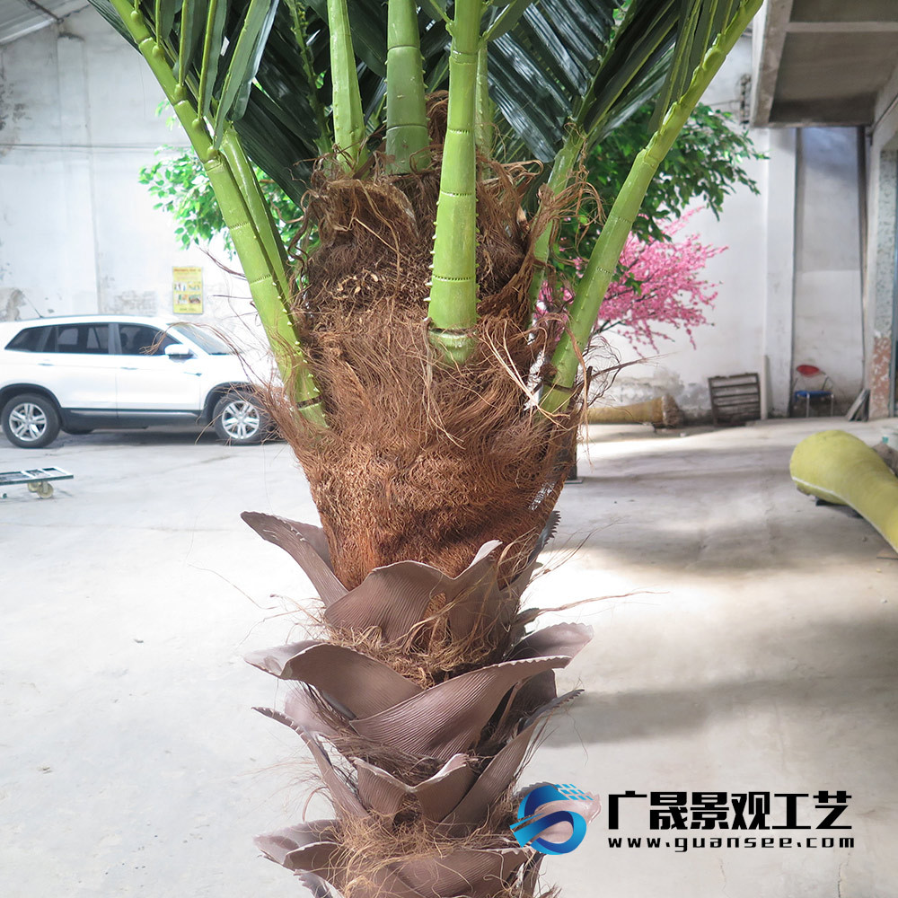 Artificial palm tree fake tree