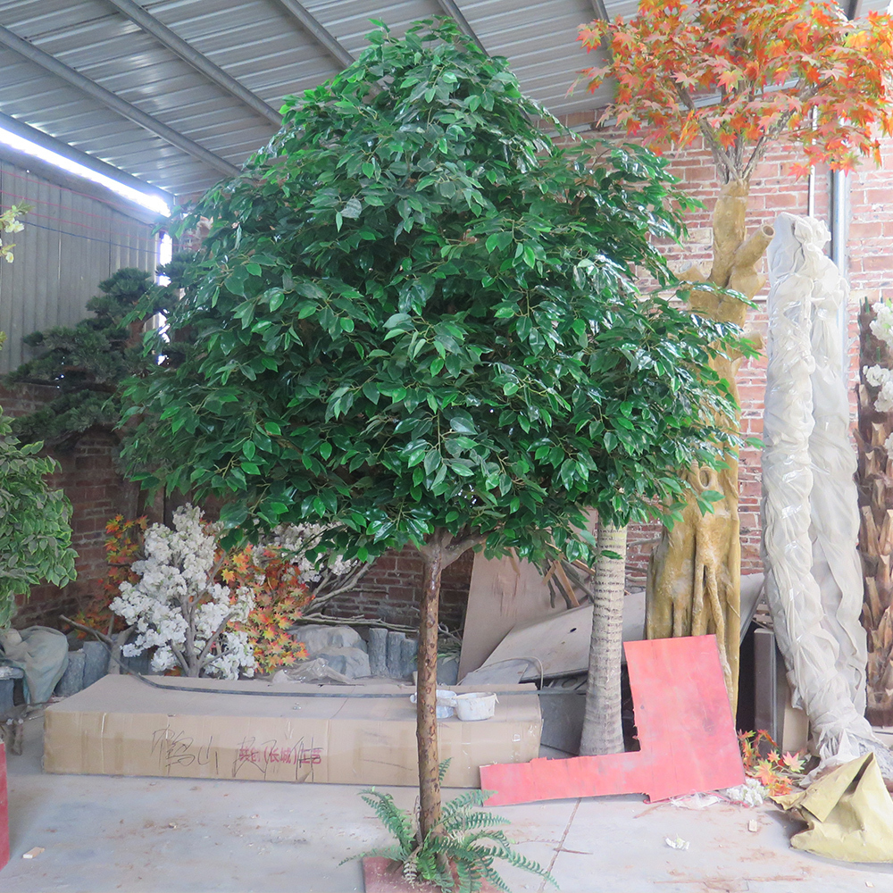 Green Artificial Banyan Tree for indoor&outdoor decoration