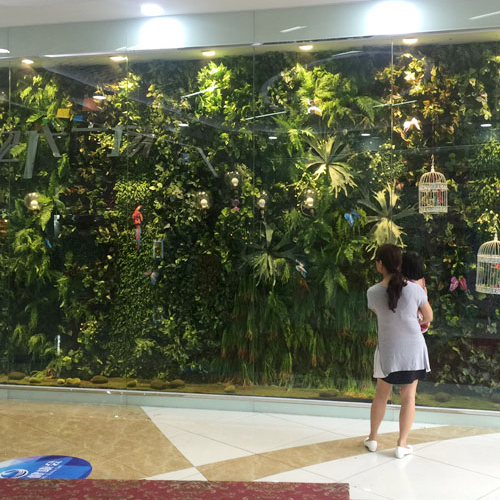 Hot Sale Artificial Plant Wall Plastic Real Touch Plant Indo