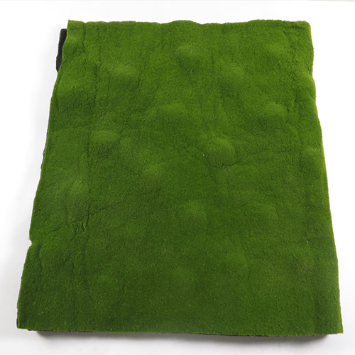 Green artificial grass plastic synthetic