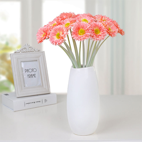 High simulation wholesale price gerbera flower branch
