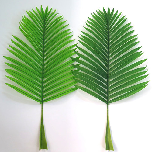 High simulation artificial pteris leaves for sale