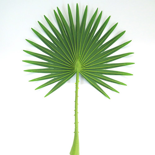 Tropical artificial branch leave on sale for ourdoor decorat