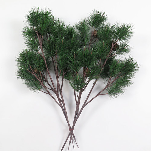 New arrival artificial pine tree branch leave