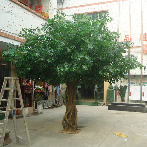 Artificial ficus tree customized size fake banyan tree