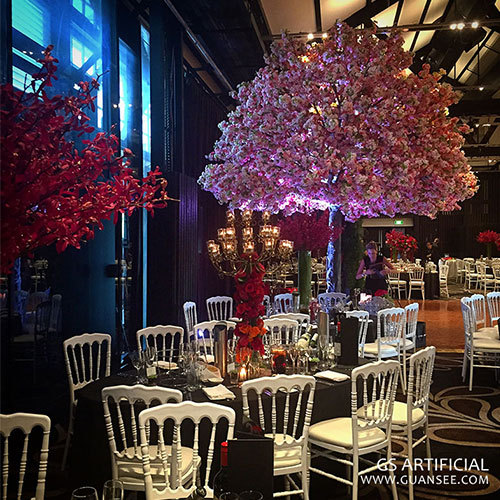 centerpiece Artificial cherry blossom tree for wedding table