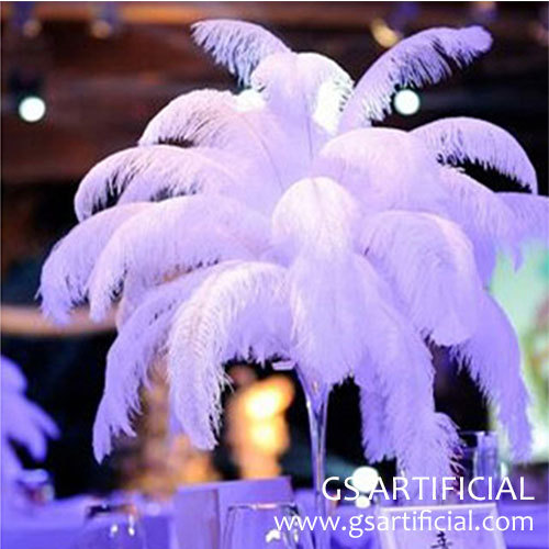 feather centerpieces for weddings table decorations