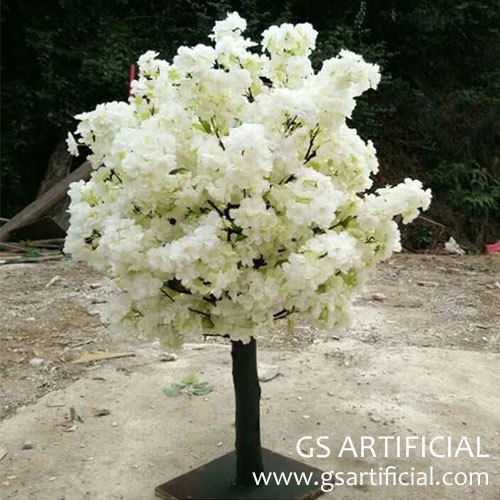 wedding table centerpiece artificial cherry blossom tree