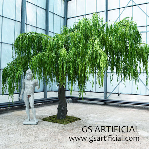 Artificial weeping willow tree willow Salix babylonica tree
