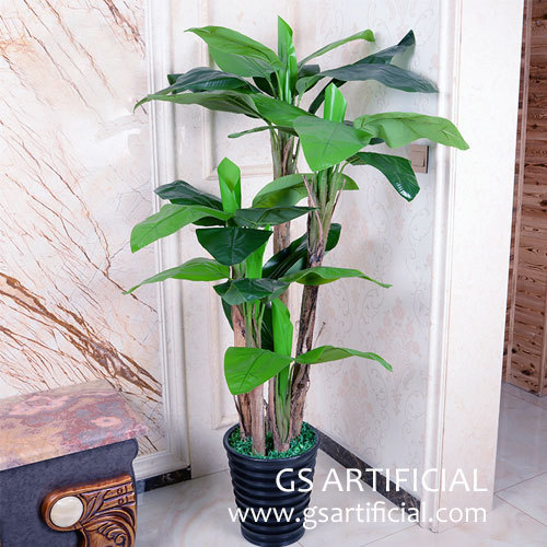 1.5m 1.8m 2m artificial banana tree customized size for home