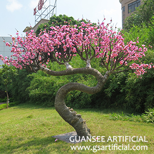 Artificial flower wintersweet tree landscape design