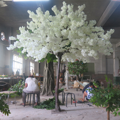 White cherry blossom tree for wedding&event decoration