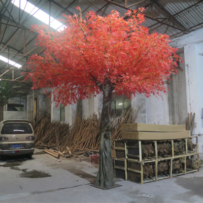 High simulation Japanese artificial maple tree