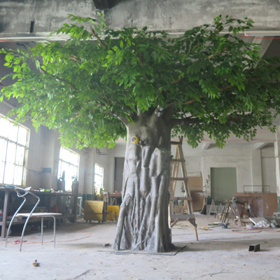 Customized Large artificial banyan tree for sale