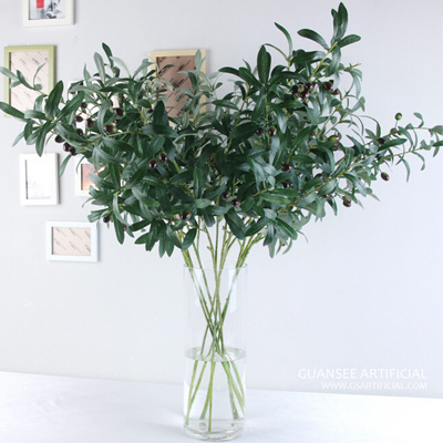 High quality artificial olive branch leaves for sale