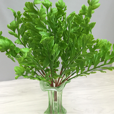 High quality artificial small green plant for sale