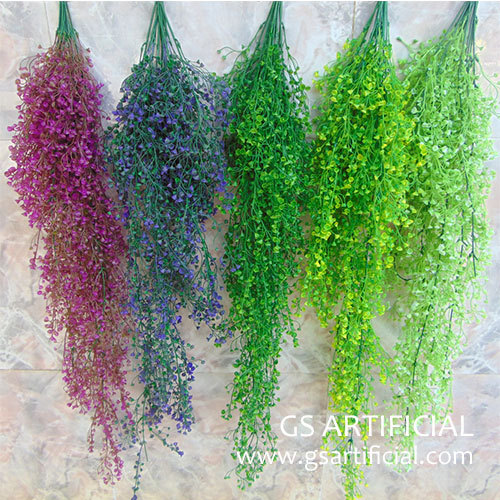 fashion Artificial hanging plant for wall decorations