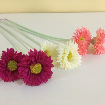 Silk flower Artificial chrysanthemum for home decoration