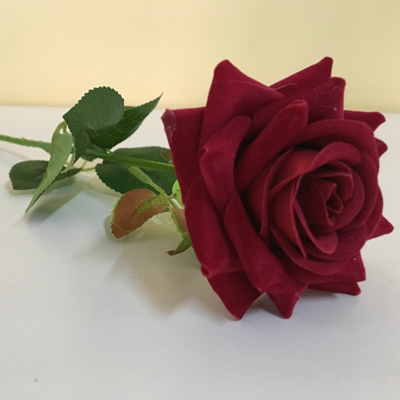 Factory high quality artificial rose flower for home decorat