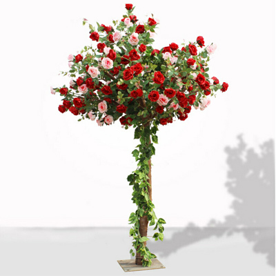 Wedding decoration artificial flower tree centerpiece