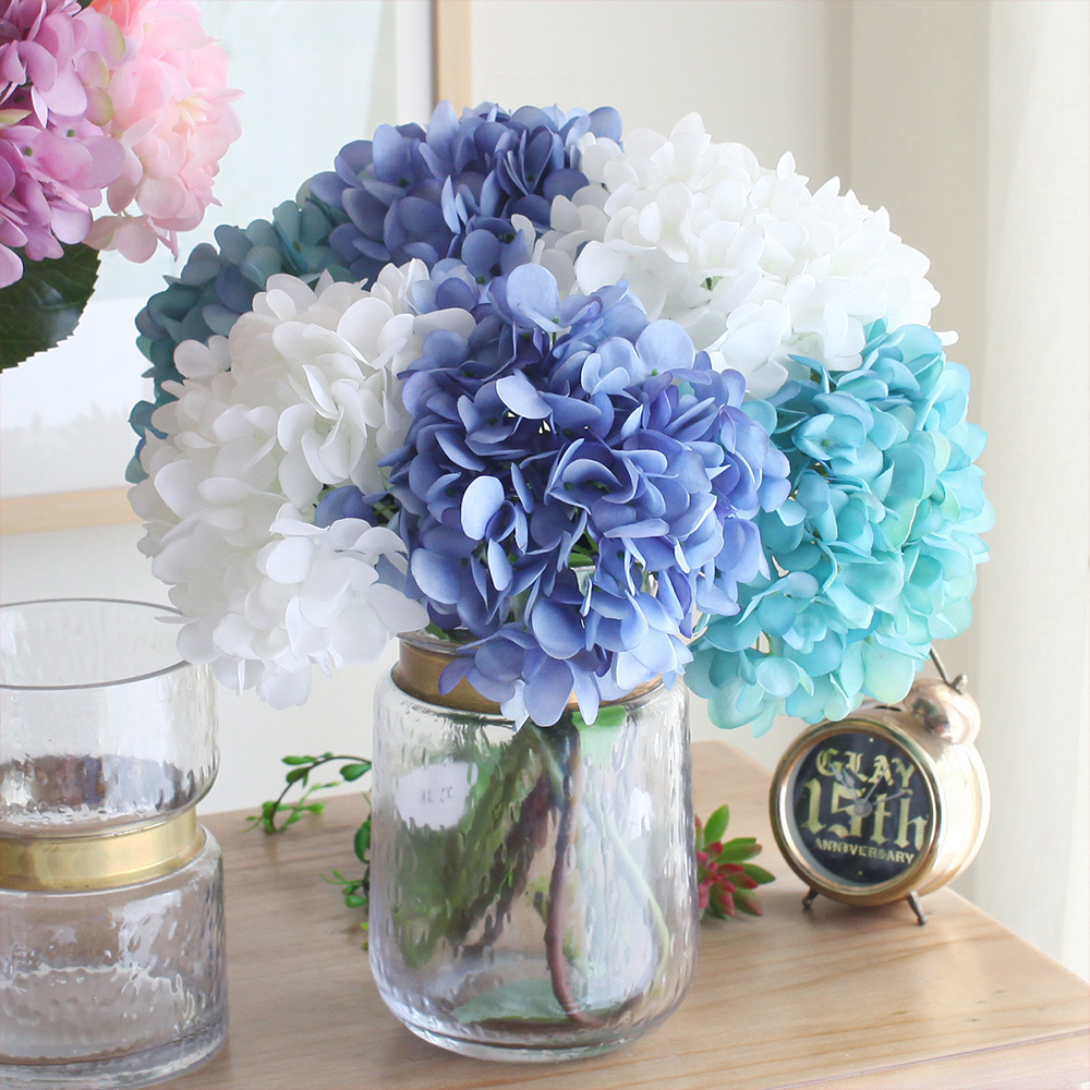 Wedding decoration high quality artificial hydrangea