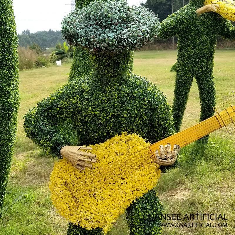 artificial topiary alphabet