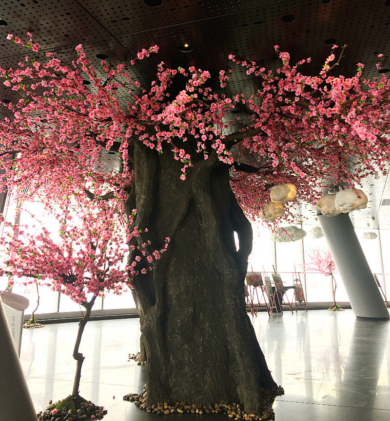 real touch  artificial cherry bloosom tree