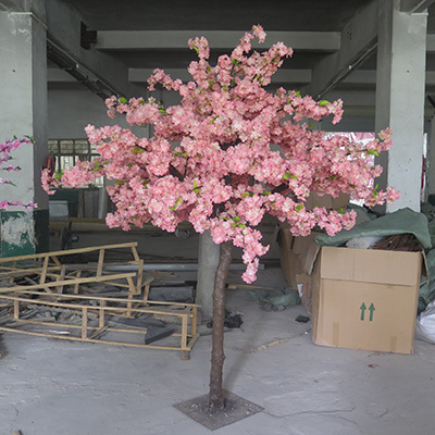 wedding and party decoration of cherry blossom tree