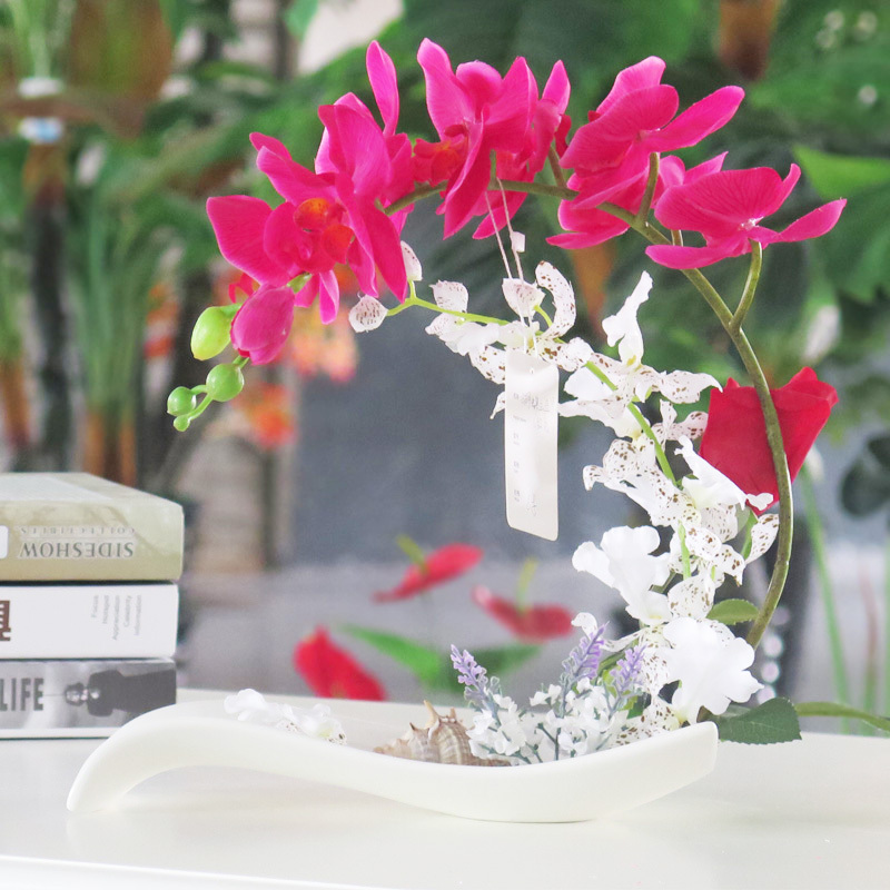 artificial real touch orchids flower
