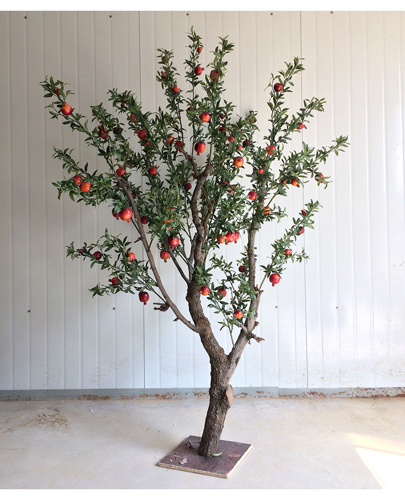 wholesale artificial Pomegranate tree