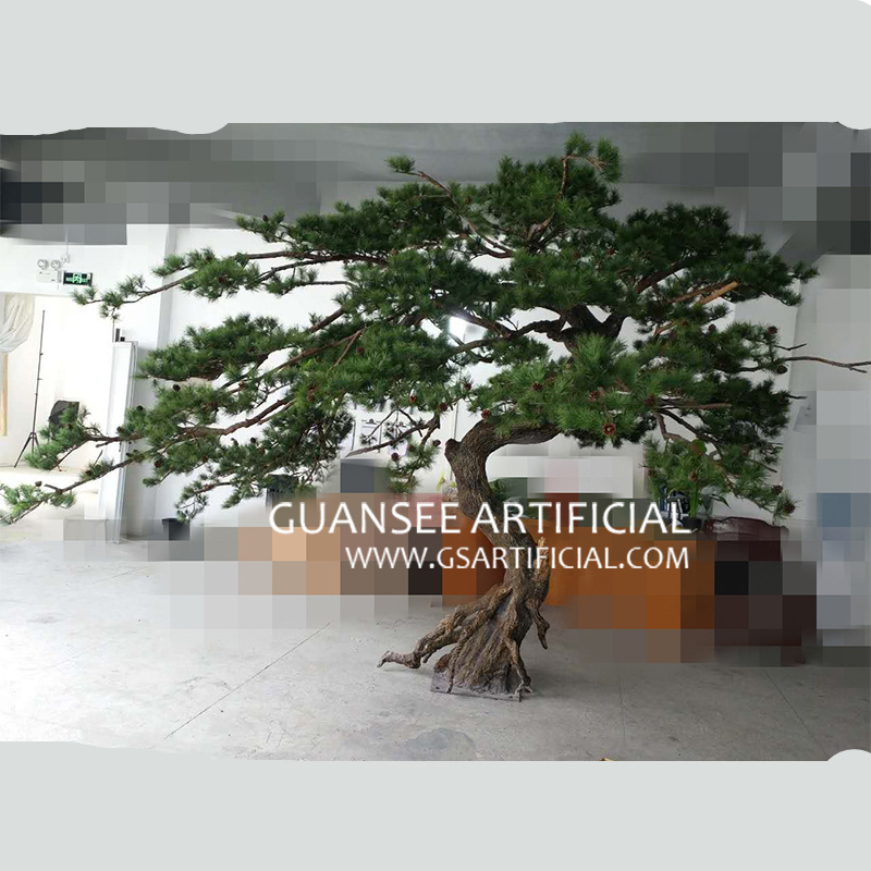 fiberglass indoor decor Artificial pine tree
