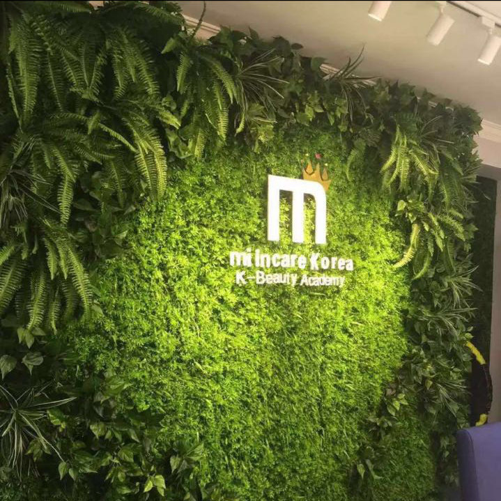 vertical grass wall artificial green wall for indoor decoration