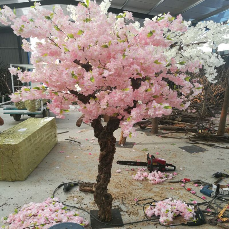 silk flower artificial cheryy blossom tree