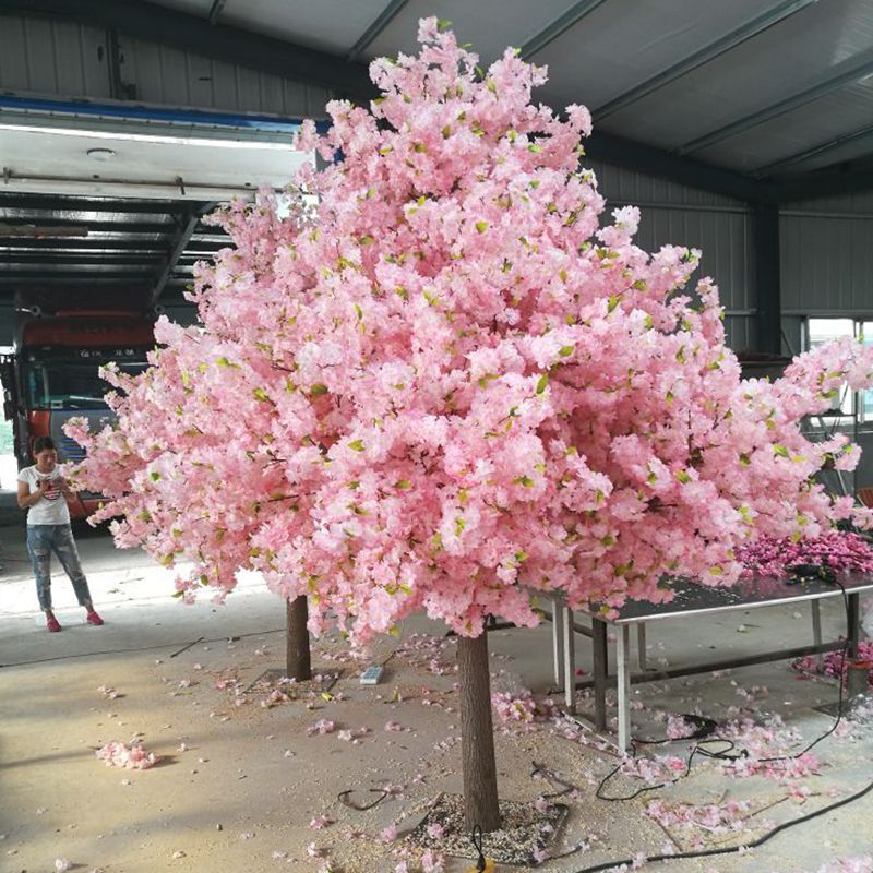 wedding centerpieces artificial cherry blossom