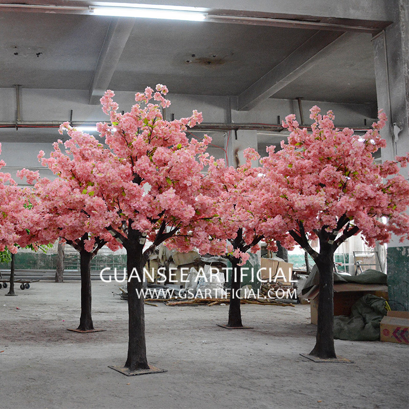 7ft artificial cherry blossom tree pink centerpiece