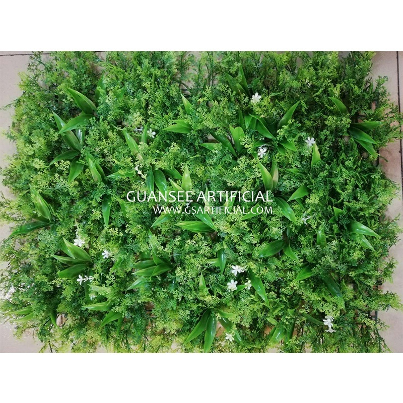 hot sale artificial vertical grass wall fake wall hang plant