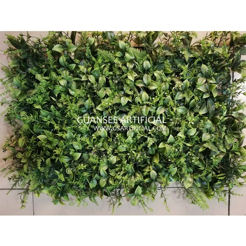 Landscaping artificial grass wall vertical green wall grass