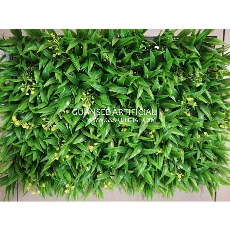 artificial Fence grass vertical garden matts plastic