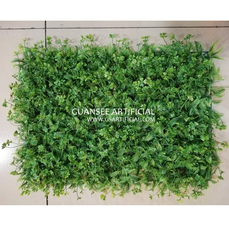 building wall decor artificial vertical grass plastic evergr
