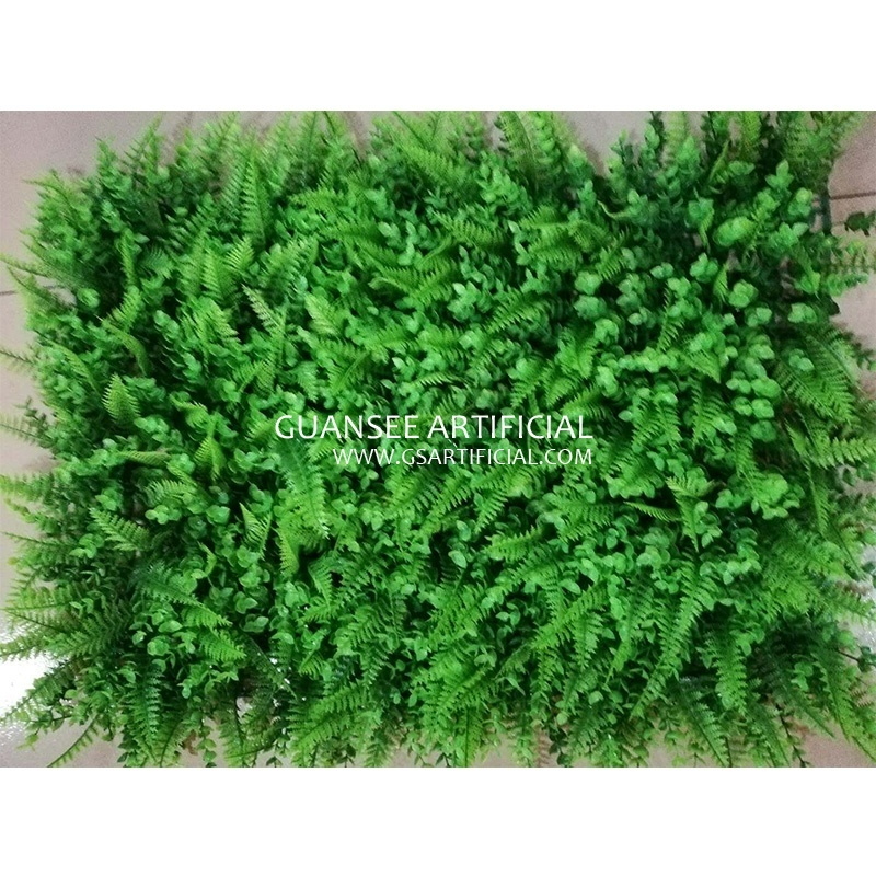 fashion design artificial plant wall vertical grass panel