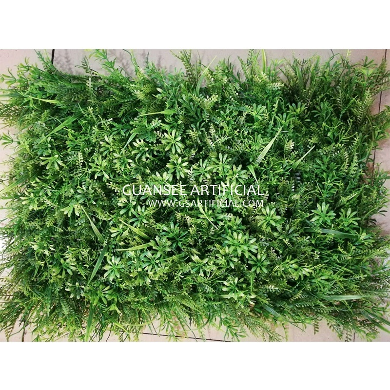 plastic fence panel grass artificial vertical wall grass