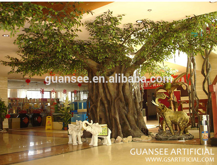 artificial ficus tree banyan tree