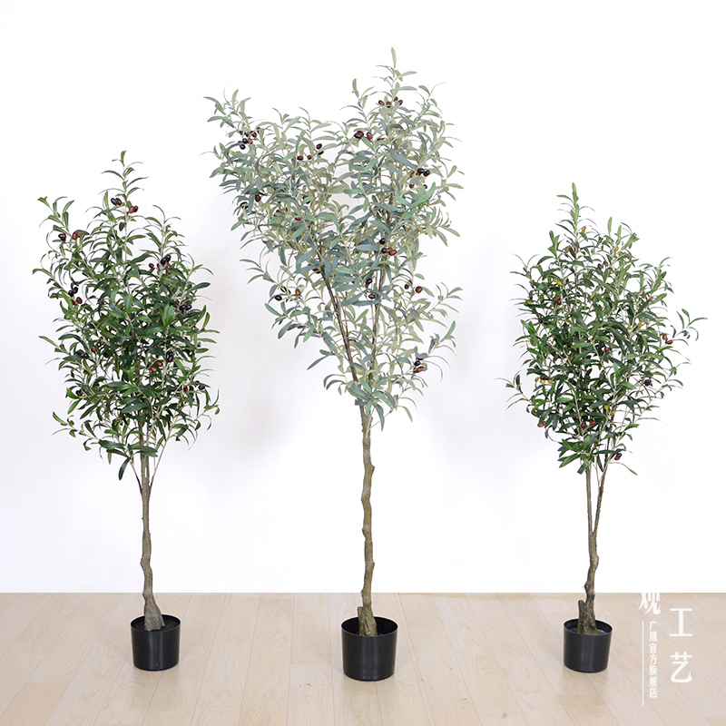 artificial Olive bonsai plants