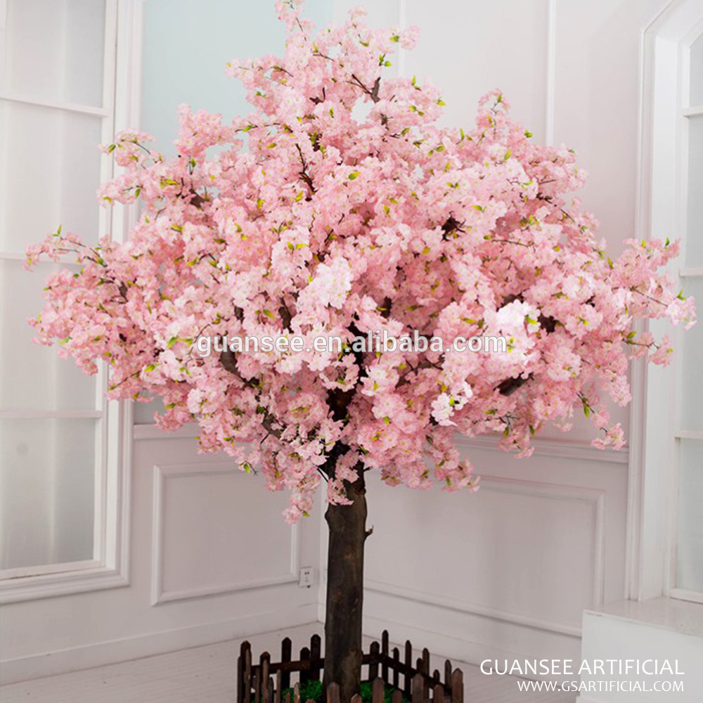 wedding table centerpieces cherry blossom tree