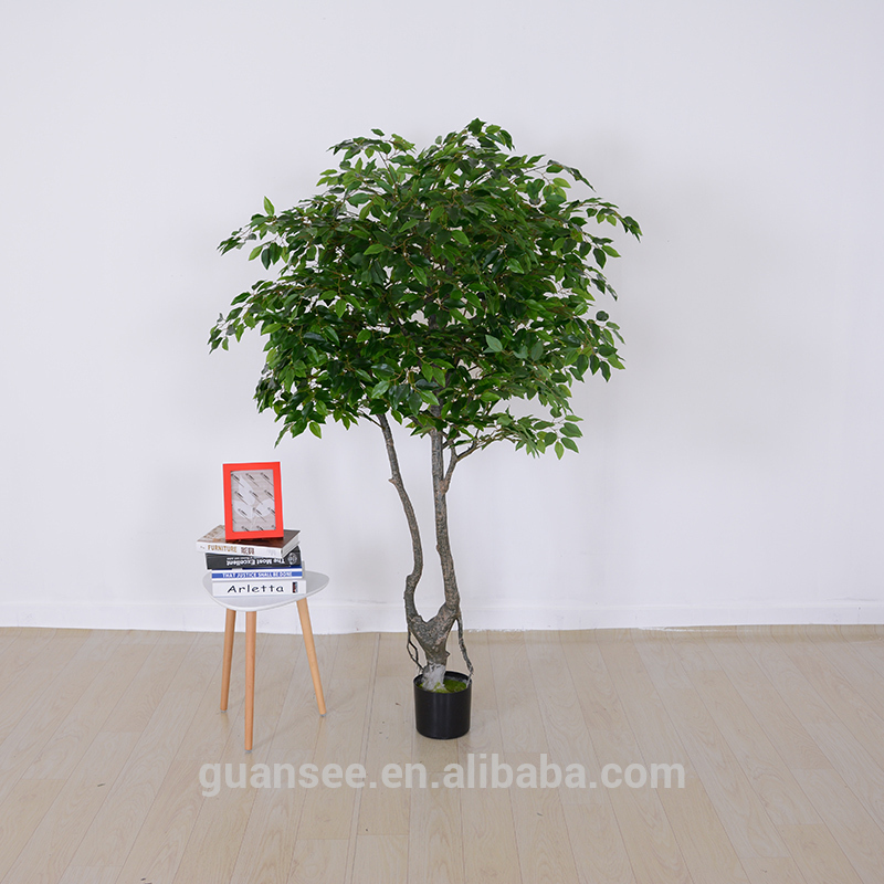 Artificial ficus tree small bonsai tree