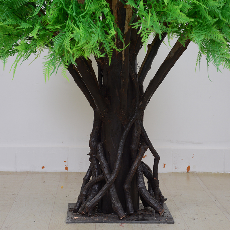 2m plastic tree artificial cypress tree