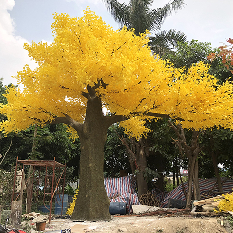 8m large artificial Ginkgo tree