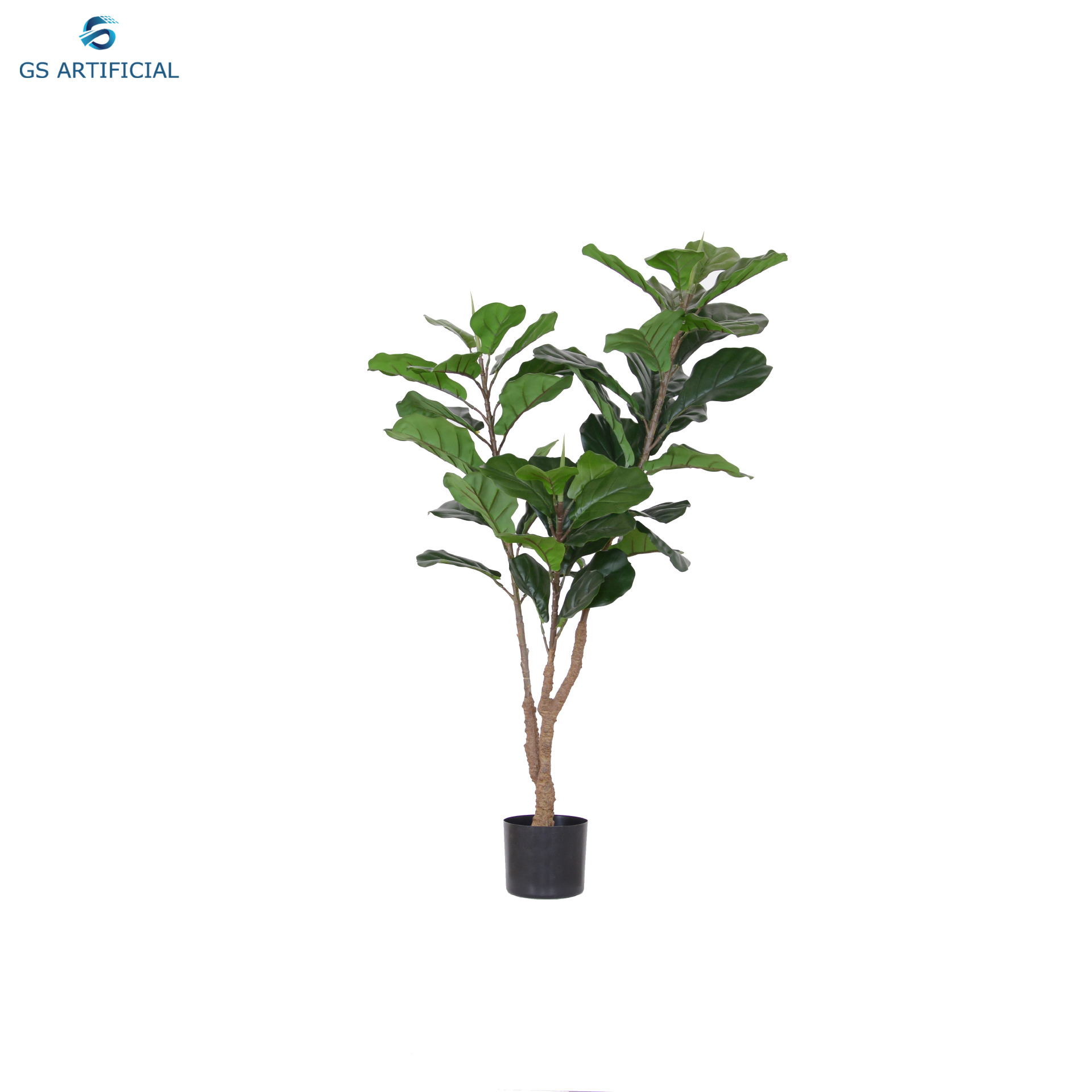 Artificial Ficus pandurata Hance green bonsai size 120cm big