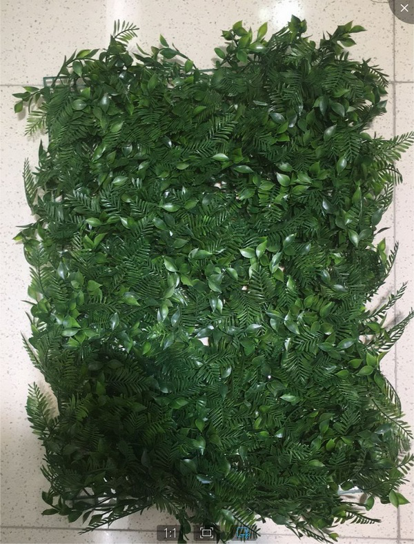 Artificial Grass Mat Grass Hedge Plant wall for decoration c